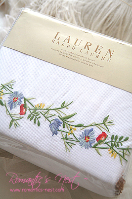Ralph Lauren Georgica Full Queen Duvet Cover ....